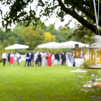 Catering Empfang im Freien Outdoor