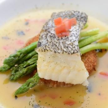 Catering Menü mit Hauptgang Fisch