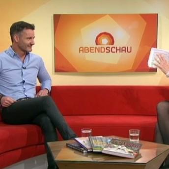 Christian Henze in der Abendschau des BR Bayerischen Rundfunk