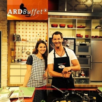 Christian Henze bei ARD Buffet Moderation